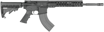 M-15 Light Tactical Carbine 7.62x39mm 16 Inch Chrome Lined Maganese Phosphated Threaded Barrel 6-Position Collapsible Stock 30 Round