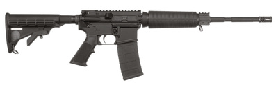 M-15 Defensive Sporting Rifle .223 Remington/5.56x45mm 16 Inch Threaded Barrel 1/2x28 TPI Collapsible Stock Black 30 Round
