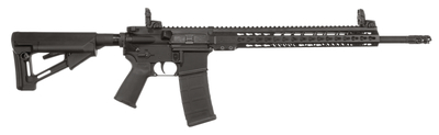 M-15 Tactical .5.56x45mm/.223 18 Inch Black Cerakoted Stainless Steel Barrel Magpul STR Collapsible Stock Black 30 Round