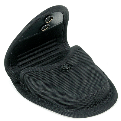 Handcuff Pouch Single Molded Cordura Duty Gear Black