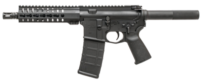 CMMG MK4 PDW .300 AAC Blackout 8 Inch Medium Taper Threaded Barrel 5/8-24 Threads Single Stage Mil-Spec Trigger Black 30 Round