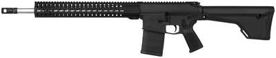 CMMG MK3 3GR - 3 Gun Shooter .308 Winchester 18 Inch Stainless Steel Barrel RKM15 Hand Guard Magpul MOE Pistol Grip MOE Rifle Stock Black 20 Round