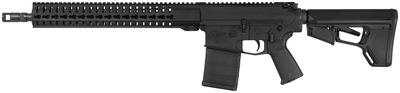 CMMG MK3 CBR .308 Winchester 16 Inch Tapered Medium Weight Profile Barrel SV Brake Threaded 5/8-24 TPI RKM15 Hand Guard Magpul MOE Pistol Grip ACS-L Butt Stock Black 20 Round