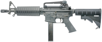 LE6991 SBR 9mm 10.5 Inch Barrel Integral Sights Adjustable Stock Carry Handle 32 Round - All NFA Rules Apply