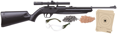Model 760 Pumpmaster Kit .177 Caliber Black Stock and Forend with 4x15mm Scope