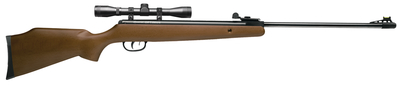 Optimus Air Rifle .177 Caliber Break Barrel Hardwood Stock With 4x32mm CenterPoint Scope