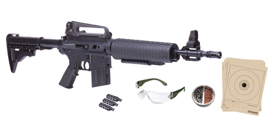 M4-177 Multi-Pump Repeater Kit .177 Caliber BB/Pellet Adjustable Stock Black Stock and Forend