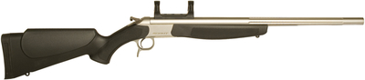 Scout V2 Compact Single Shot .243 Winchester 20 Inch Stainless Steel Barrel Synthetic Stock Black