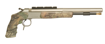 Optima v2 Pistol .50 Caliber 14 Inch Stainless Steel Barrel Rail Mount Realtree Xtra Green