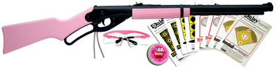 Pink Model 1998 Fun Kit .177 Caliber BB With Sights Includes Pink Shooting Glasses Pink Tin Of BB's and Paper Targets