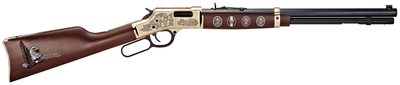 Henry Big Boy Eagle Scout Centennial .44 Magnum 20 Inch Octagonal Barrel Blue Finish Straight Grip American Walnut Stock 10 Rounds