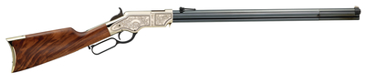 Henry Deluxe Engraved Limited 2nd Edition .44-40 Winchester 24.5 Inch Barrel Blue Finish American Walnut Stock 13 Round