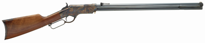 Henry Iron Frame Original .44-40 Winchester 24.5 Inch Barrel Blue Finish American Walnut Stock 13 Round