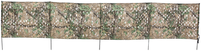 Collapsible Super Light Portable Ground Blind Realtree Xtra Camouflage 12 Feet x 27 Inches