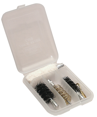 Jag And Brush Case Four Compartments Palm Size Clear