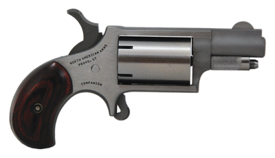 Companion Mini Cap And Ball Revolver .22 Long Rifle 1.125 Inch Barrel Stainless Steel 5 Shot