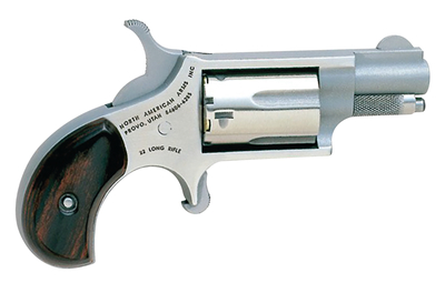 Companion Mini Cap And Ball Revolver Kit .22 Long Rifle 1.125 Inch Barrel Stainless Steel 5 Shot