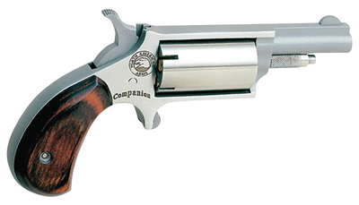 Companion Super Cap And Ball Revolver .22 Long Rifle 1.625 Inch Barrel Stainless Steel 5 Shot