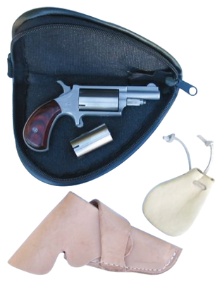 Companion Super Cap And Ball Revolver .22 Magnum 1.875 Inch Barrel Stainless Steel 5 Shot