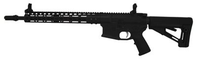 Gen III Light Recce CHF 5.56mm 16 Inch CHF Barrel Parkerized Finish 1/2-28 Threads NSR-13.5 Handguard Magpul STR Stock 30 Round
