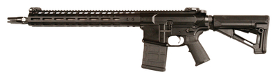 Gen III N6 7.62x51mm NATO 16 Inch Stainless Steel Barrel Black Finish NSR-15 M-LOK Handguard Magpul STR Stock 25 Round