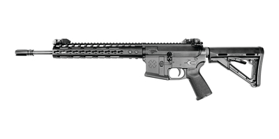 Gen III Thunder Ranch Rifle 5.56mm NATO 14.5 Inch Barrel With Permanently Attached Flash Suppressor (16 Inch Overall Length) BUIS NSR-11 Handguard Magpul CTR Stock 30 Round