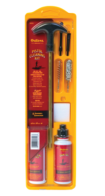 Compact Brass Pistol Cleaning Kit Clampack .22 Caliber