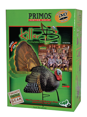 Killer B Turkey Decoy System With Carrying Bag and Instructional DVD