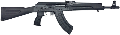 IZ132L AK47 Style 7.62x39mm 16.25 Inch Barrel Adjustable Sights Fixed Polymer Stock 30 Round