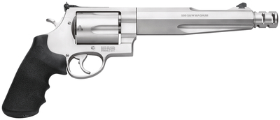 Model 500 Performance Center Compensated Hunter .500 S&W Magnum 7.5 Inch Barrel Matte Stainless Finish Synthetic Grip 5 Round