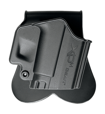 XDM Molded Paddle Holster Black