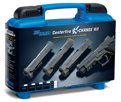 Caliber X-Change Kit For SIG P320C .357 SIG 3.9 Inch Barrel Black Nitron With Night Sights and 13 Round Magazine