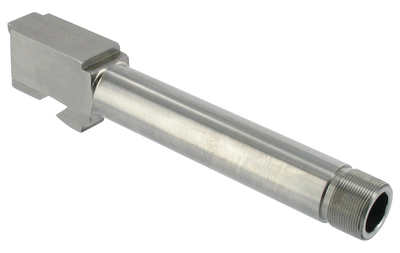 Glock 17 Threaded Barrel 9mm 5.19 Inch Stainless Steel With 1/2-28 TPI