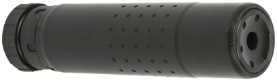 Chimera Rifle Silencer With Direct Thread Mount Multi-Caliber .22 Hornet Thru .300 Winchester Magnum 6.9 Inches 1.6 Inch Diameter Black Finish - All NFA Rules Apply