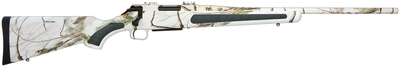 Venture Predator .308 Winchester 22 Inch Fluted Barrel Composite Stock Full Realtree Hardwoods Snow Camouflage Finish 3 Round
