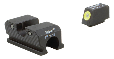 Trijicon Heavy Duty Night Sights Yellow Front Outline Walther 99/PPQ