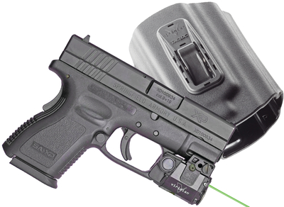 C5L Green Laser and Light Plus TacLoc Holster Package Springfield XD/XDM 9mm/.40/.45