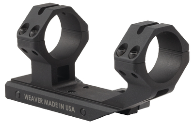 Special Purpose Rifle 30mm Optic Mount For AR Platform Rifles Black