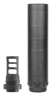 "Turbo 5.56 Stainless with 1/2-28"" includes Q.D. Muzzle Brake- All NFA Rules Apply"