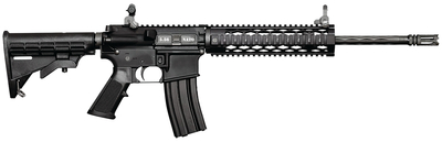 Specter Black Diamond Carbine 5.56mm NATO 16 Inch Chrome-Lined Barrel With Flash Hider 1:7 Twist Flip Sights Adjustable Commercial Carbine Stock 30 Round
