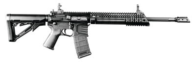 Billet Model 57 Carbine 5.56mm 16 Inch Threaded Barrel 1:9 Twist QDS Sights MOE Grip Magpul Adjustable Stock 30 Round