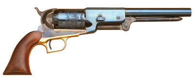 1847 Walker Dragoon .44 Caliber 9 Inch Blued Barrel Walnut Grip