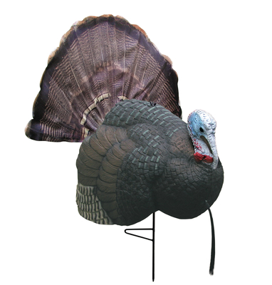 B-Mobile Turkey Decoy With Carrying Bag and Instructional DVD