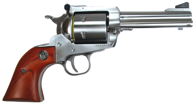Model KS-458N .44 Remington Magnum 4.625 Inch Barrel Satin Stainless Finish Unfluted Cylinder 6 Round