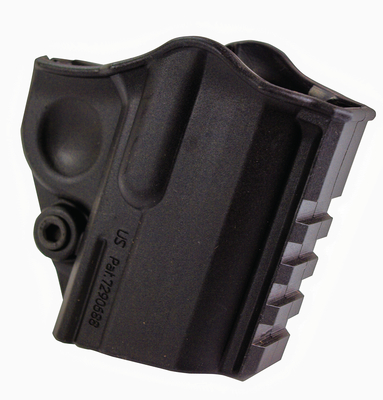 Universal Belt Slide Holster and Accessory Carrier Springfield 1911A1 Black