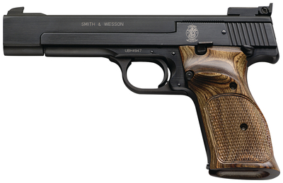Model 41 Target Pistol .22 Long Rifle 5.5 Inch Barrel Single Action Adjustable Sights Blue Finish 10 Round