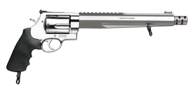 Model 460XVR Performance Center .460 Smith & Wesson Magnum 10.5 Inch Barrel Satin Stainless Finish 5 Round Synthetic Grip