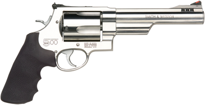Model 500 .500 Smith & Wesson Magnum 6.5 Inch Barrel Satin Stainless Finish Synthetic Grip 5 Round