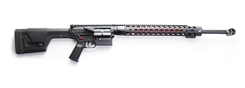 "LTC-19™ Rifle | Top Charge w/ LRP-07 Lower, 6.5mm Creedmoor, Red Thermal and Controls, 22"" Medium Contour Polished Stainless Barrel, LMOS, SCS, 17.25"" RC Handguard, Curved Trigger,"