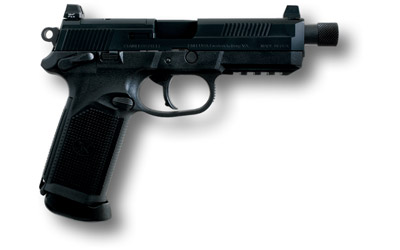 FNX-45 Tactical Double Action/Single Action .45 ACP 5.3 Inch Threaded Barrel Black Finish Night Sights 15 Round